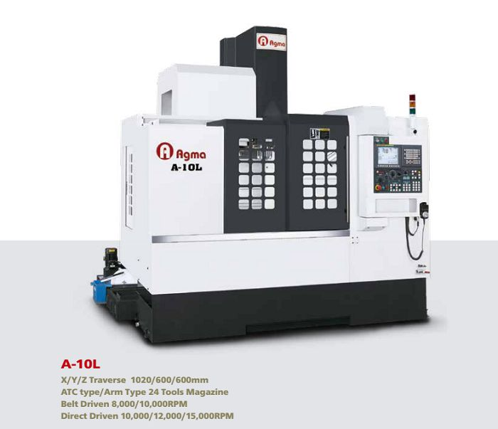 may phay cnc dai loan agma A-10L